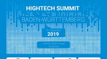 Hightech Summit Baden-Württemberg 2019