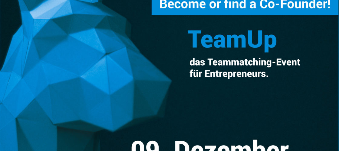TeamUp - become or find a Co-Founder!